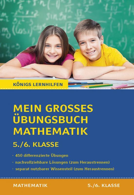 Cover-Bild Mein großes Übungsbuch Mathematik. 5./6. Klasse.