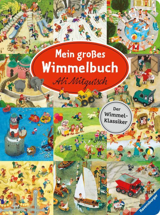 Cover-Bild Mein großes Wimmelbuch