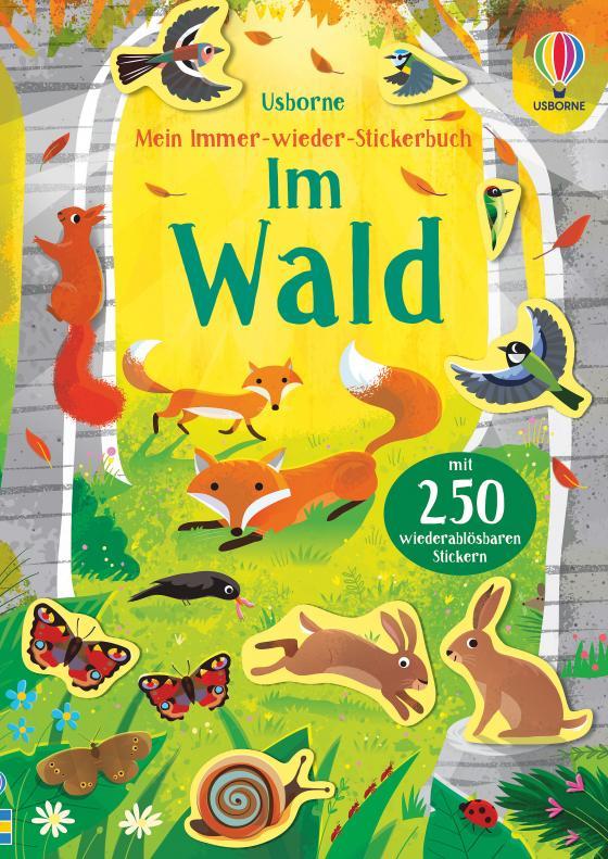Cover-Bild Mein Immer-wieder-Stickerbuch: Im Wald