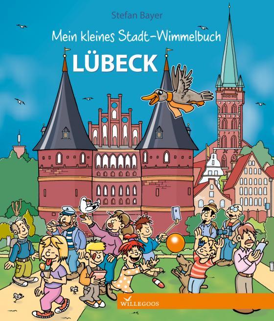 Cover-Bild Mein kleines Stadt-Wimmelbuch Lübeck