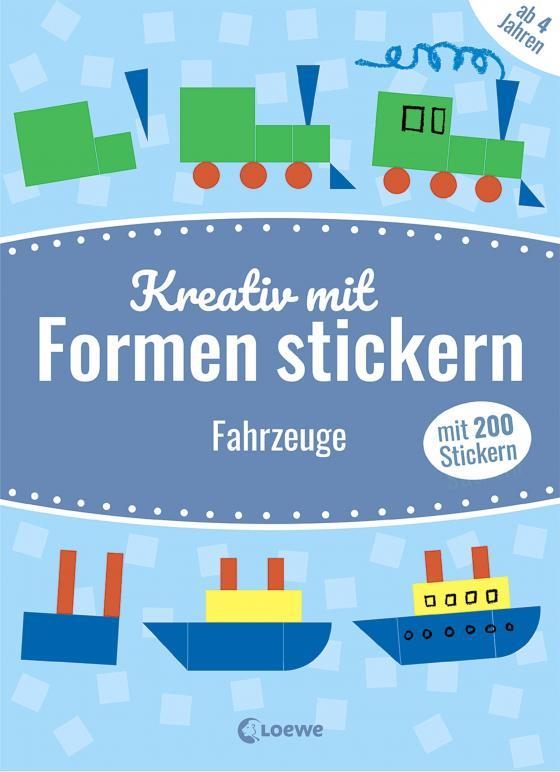 Cover-Bild Mein kunterbuntes StickerBastelBuch - Fahrzeuge