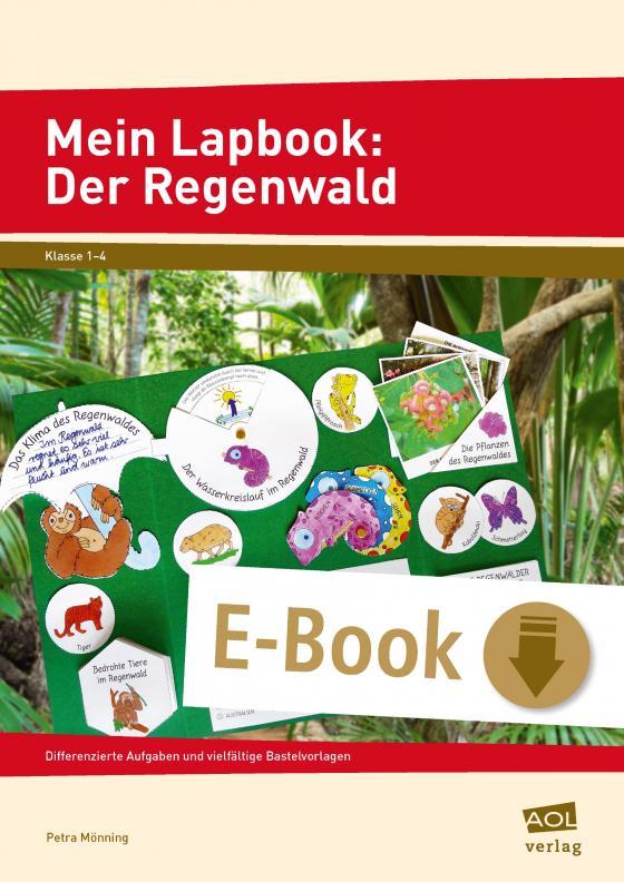 Cover-Bild Mein Lapbook: Der Regenwald