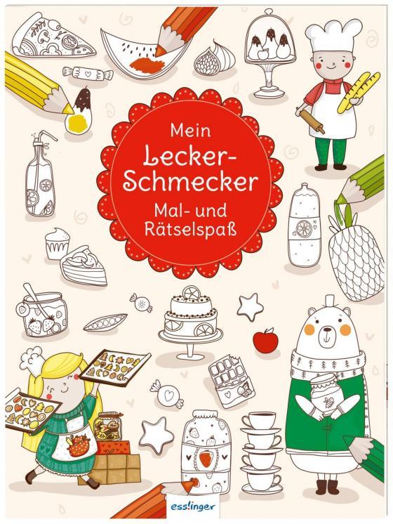 Cover-Bild Mein Leckerschmecker Mal- und Rätselspaß