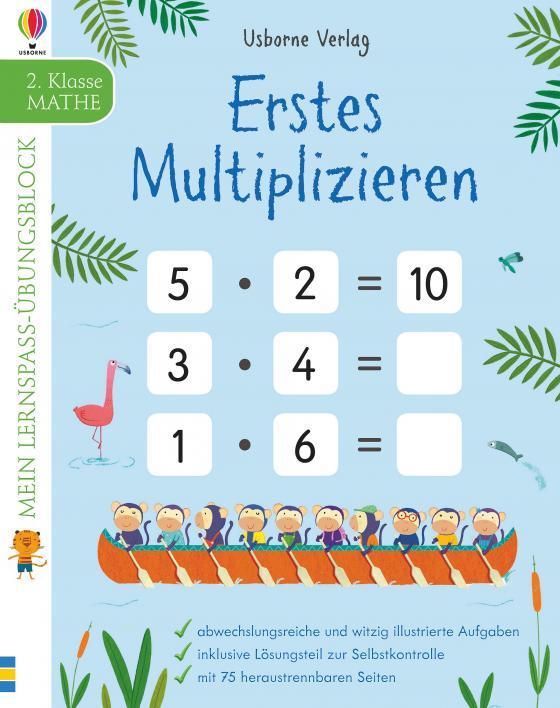 Cover-Bild Mein Lernspaß-Übungsblock: Erstes Multiplizieren