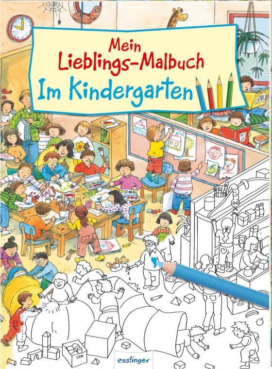 Cover-Bild Mein Lieblings-Malbuch – Im Kindergarten