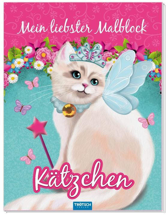 Cover-Bild Mein liebster Malblock Kätzchen