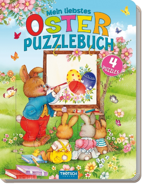 Cover-Bild Mein liebstes Oster - Puzzlebuch