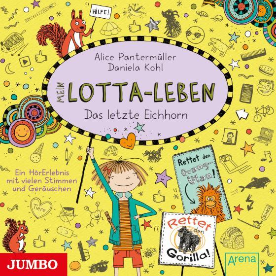 Cover-Bild Mein Lotta-Leben. Das letzte Eichhorn [16]