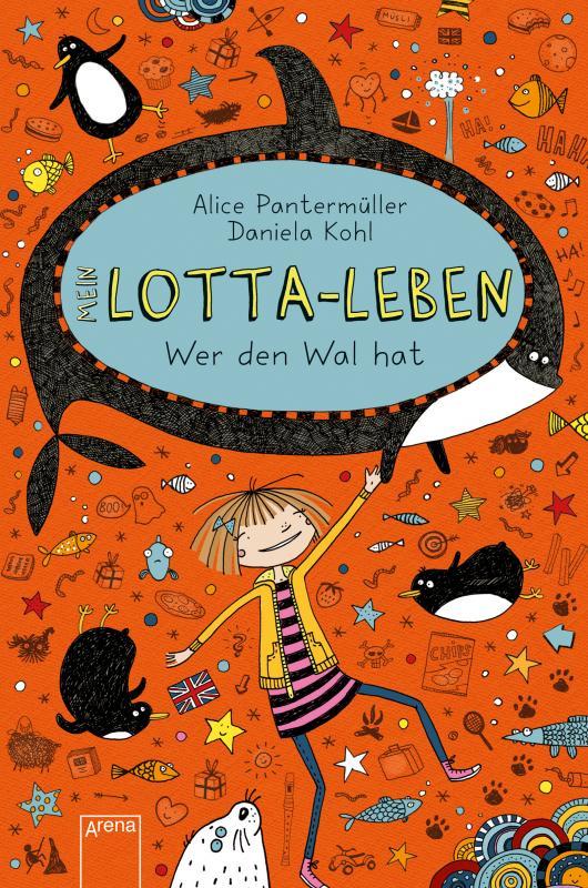 Cover-Bild Mein Lotta-Leben / Mein Lotta-Leben (15). Wer den Wal hat