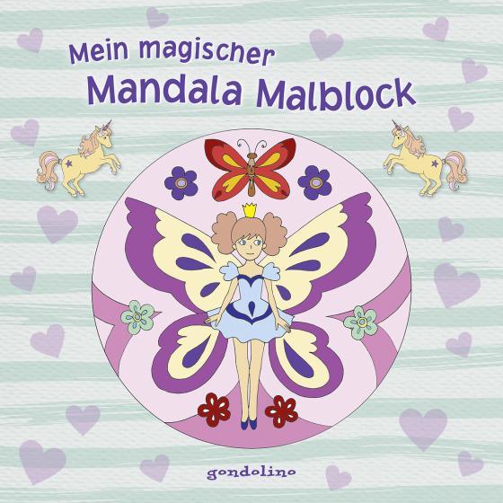 Cover-Bild Mein magischer Mandala Malblock (Blumenelfe)