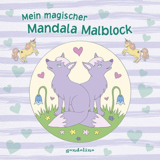 Cover-Bild Mein magischer Mandala Malblock (Fuchs)