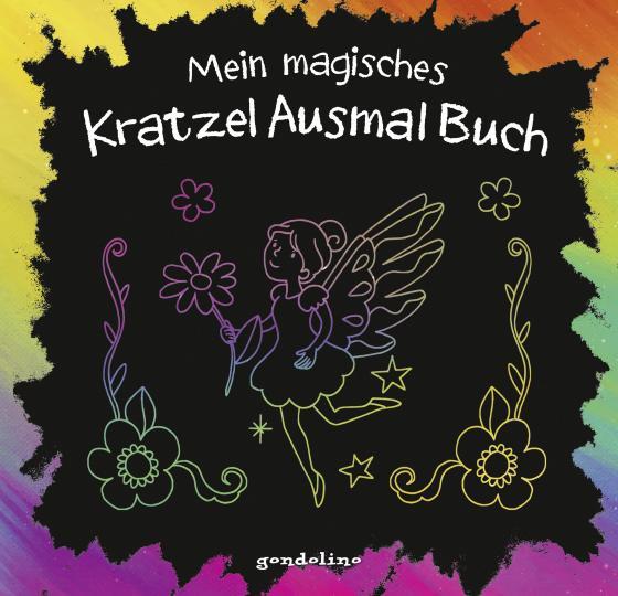 Cover-Bild Mein magisches KratzelAusmalBuch (Elfe)
