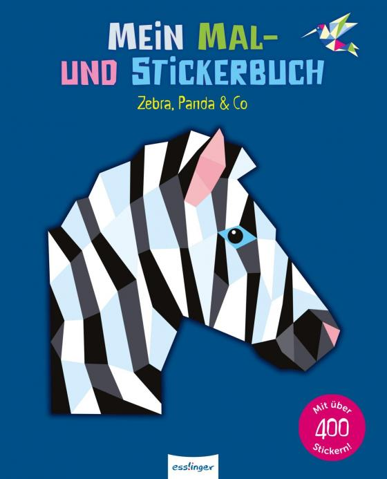 Cover-Bild Mein Mal- und Stickerbuch: Zebra, Panda & Co