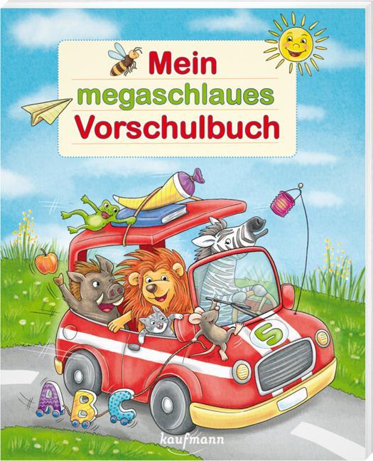 Cover-Bild Mein megaschlaues Vorschulbuch