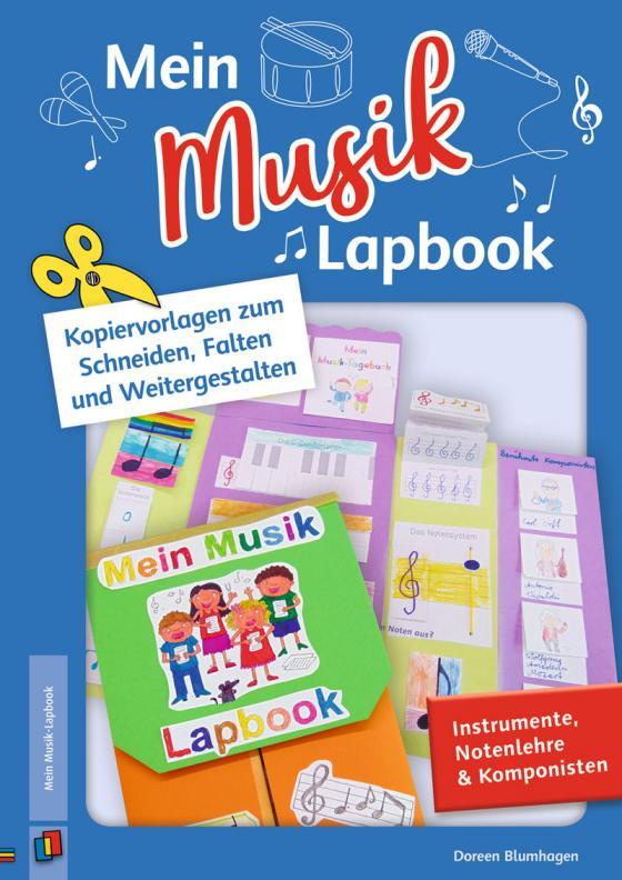 Cover-Bild Mein Musik–Lapbook – Instrumente, Notenlehre & Komponisten