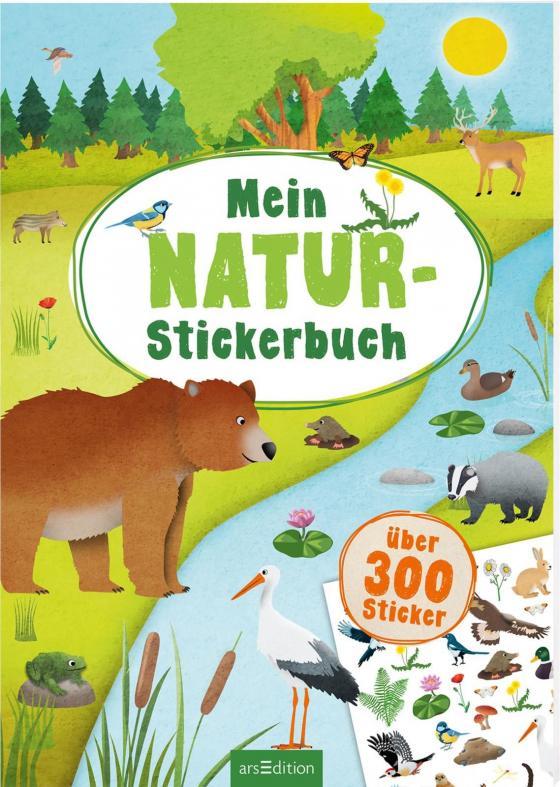 Cover-Bild Mein Natur-Stickerbuch