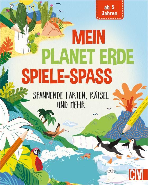Cover-Bild Mein Planet Erde-Spiele-Spaß