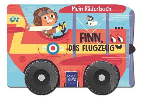 Cover-Bild Mein Räderbuch Finn Flugzeug