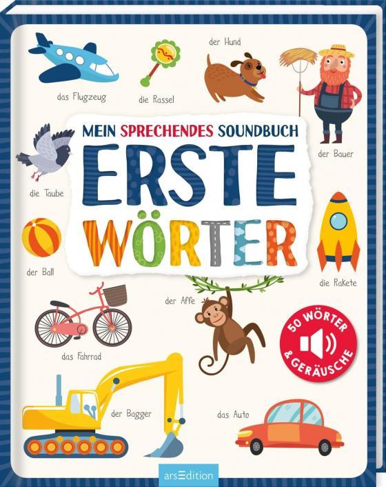 Cover-Bild Mein sprechendes Soundbuch - Erste Wörter