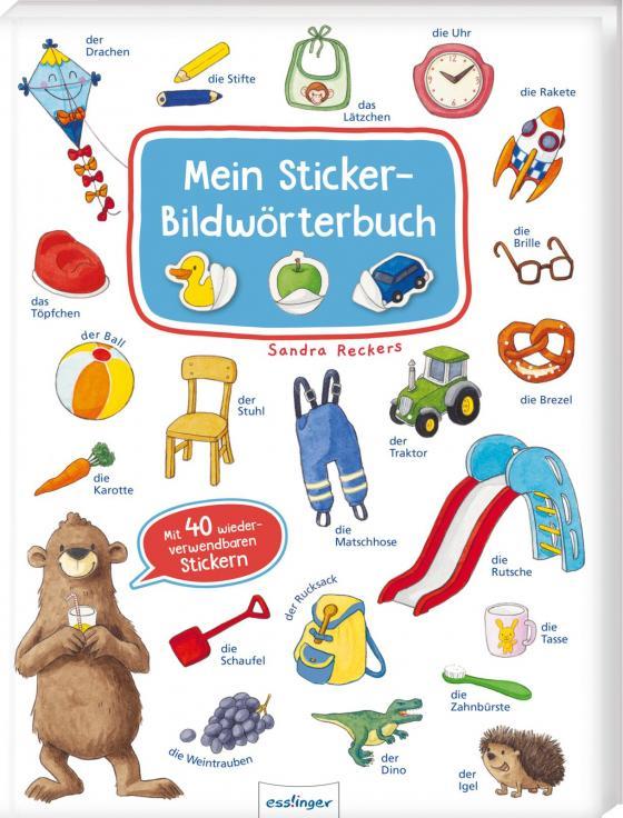 Cover-Bild Mein Sticker-Bildwörterbuch