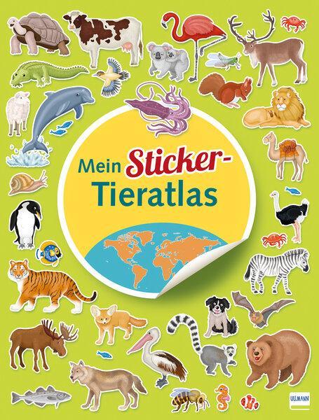 Cover-Bild Mein Sticker Tieratlas