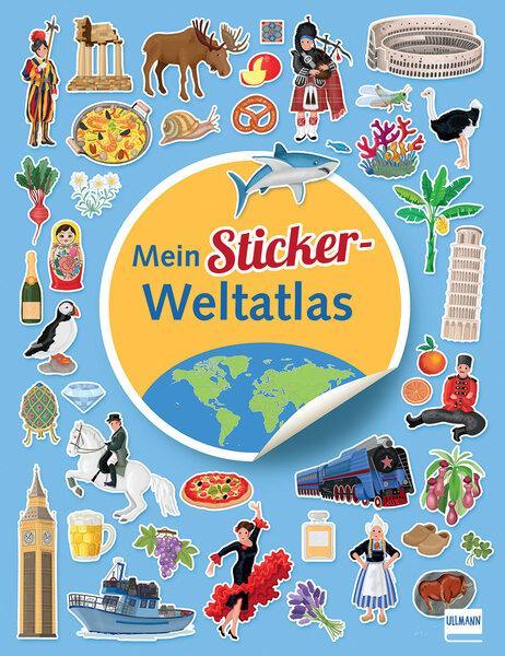 Cover-Bild Mein Sticker Weltatlas