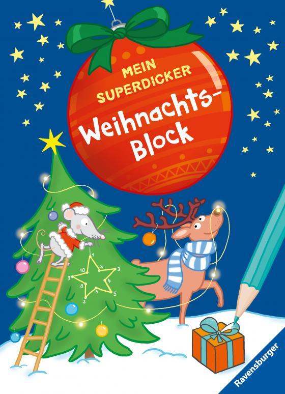 Cover-Bild Mein superdicker Weihnachtsblock