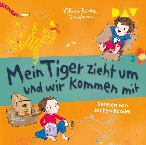 Cover-Bild Mein Tiger zieht um und wir kommen mit