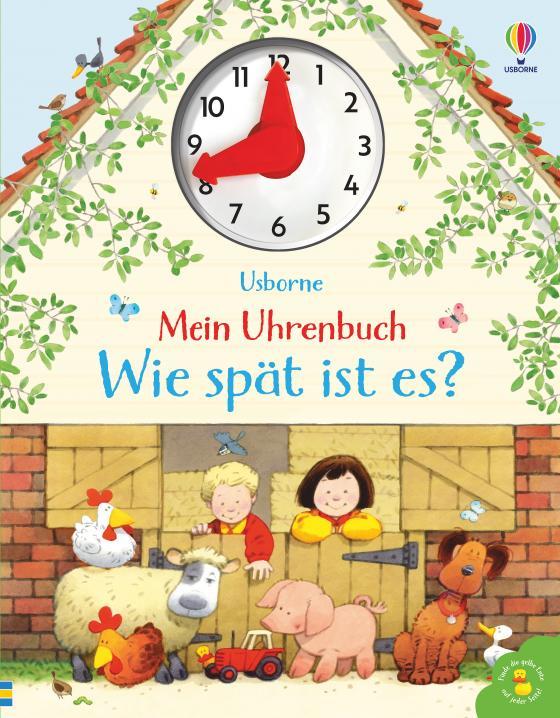 Cover-Bild Mein Uhrenbuch - Wie spät ist es?