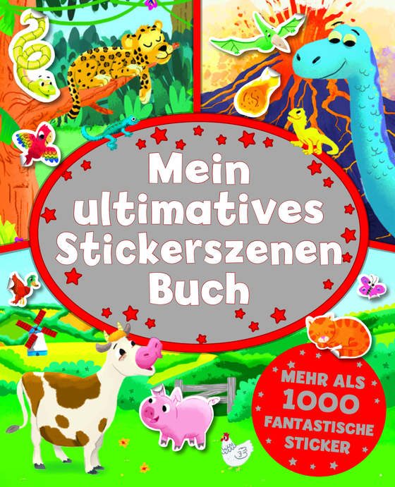 Cover-Bild Mein ultimatives Stickerszenenbuch