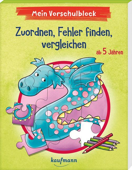 Cover-Bild Mein Vorschulblock - Zuordnen, Fehler finden, vergleichen
