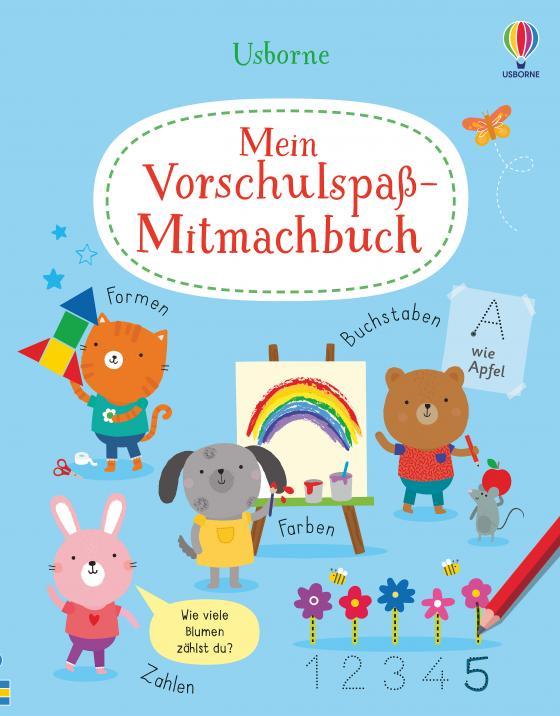 Cover-Bild Mein Vorschulspaß-Mitmachbuch