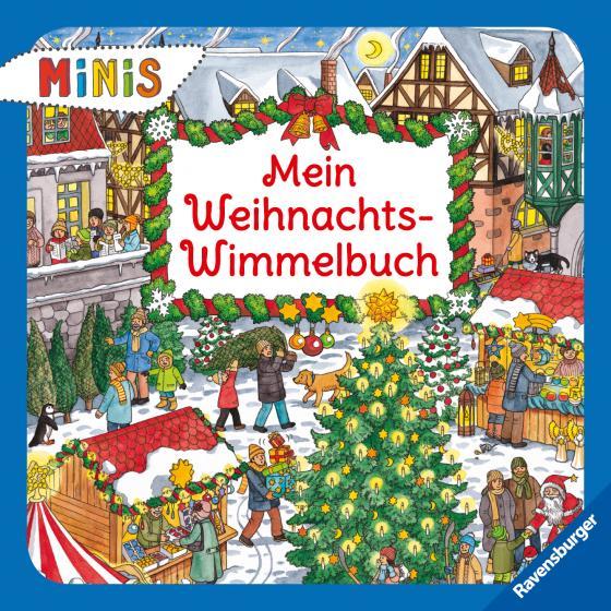 Cover-Bild Mein Weihnachts-Wimmelbuch