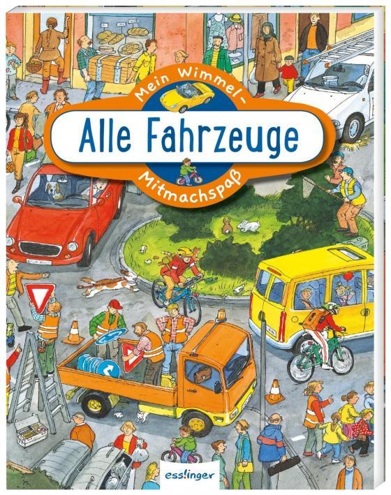 Cover-Bild Mein Wimmel-Mitmachspaß: Alle Fahrzeuge