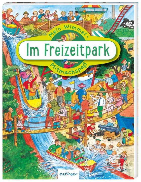 Cover-Bild Mein Wimmel-Mitmachspaß: Im Freizeitpark