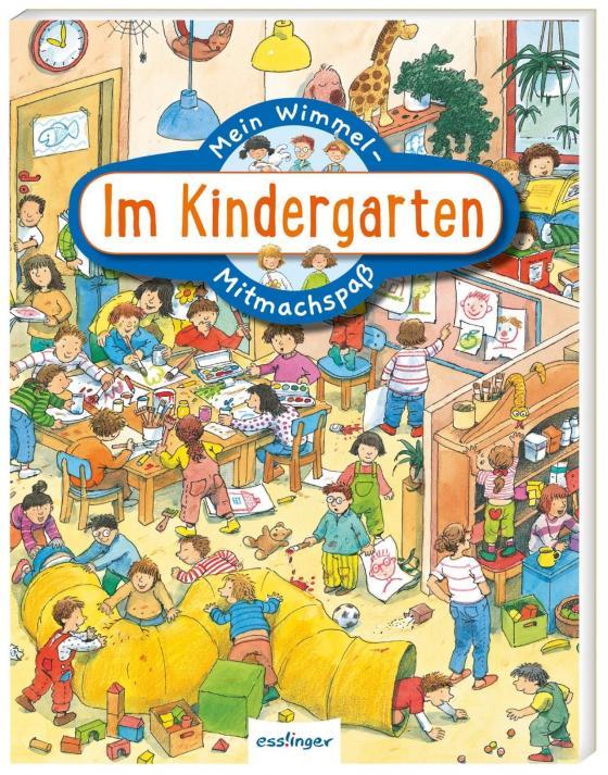 Cover-Bild Mein Wimmel-Mitmachspaß: Im Kindergarten