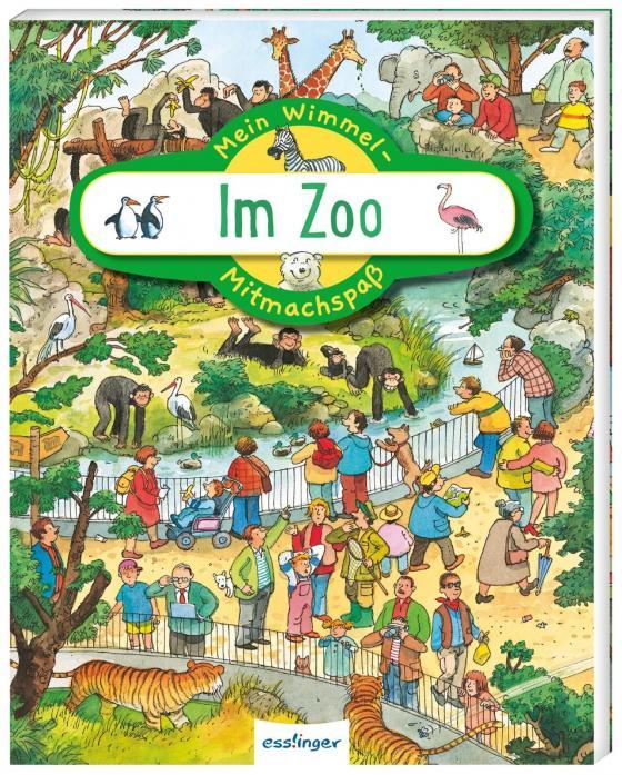 Cover-Bild Mein Wimmel-Mitmachspaß: Im Zoo