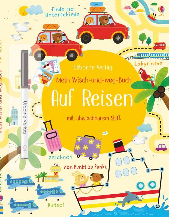 Cover-Bild Mein Wisch-und-weg-Buch: Auf Reisen