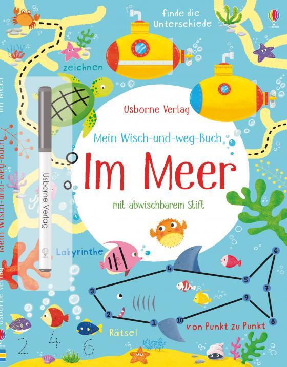 Cover-Bild Mein Wisch-und-weg-Buch: Im Meer