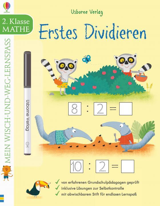 Cover-Bild Mein Wisch-und-weg-Lernspaß: Erstes Dividieren
