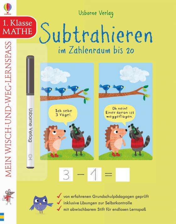 Cover-Bild Mein Wisch-und-weg-Lernspaß: Subtrahieren im Zahlenraum bis 20