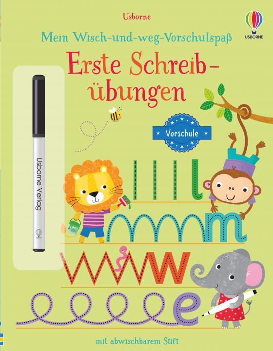 Cover-Bild Mein Wisch-und-weg-Vorschulspaß: Erste Schreibübungen