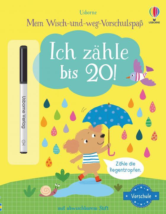 Cover-Bild Mein Wisch-und-weg-Vorschulspaß: Ich zähle bis 20!