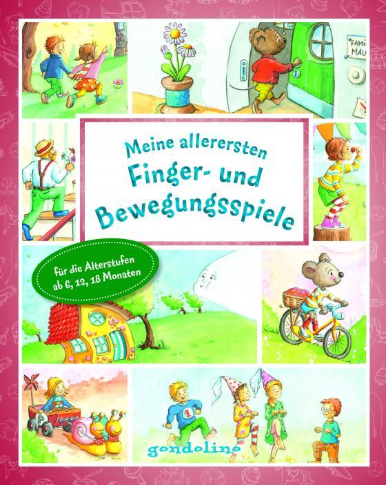 Cover-Bild Meine allerersten Finger- und Bewegungsspiele ab 6 Monate