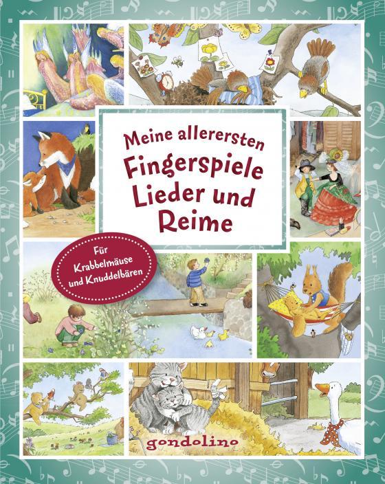 Cover-Bild Meine allerersten Fingerspiele, Lieder und Reime