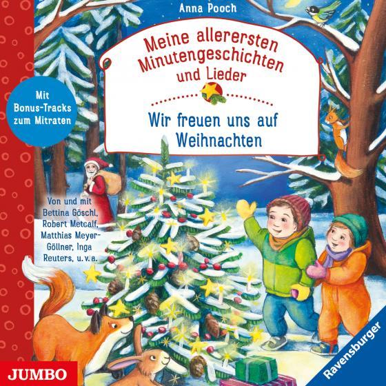 Cover-Bild Meine allerersten Minutengeschichten und Lieder: Wir freuen uns auf Weihnachten