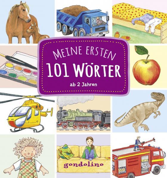 Cover-Bild Meine ersten 101 Wörter ab 2 Jahre