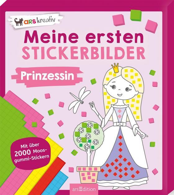 Cover-Bild Meine ersten Stickerbilder Prinzessin