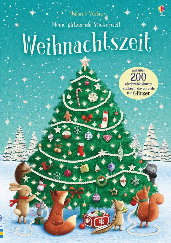 Cover-Bild Meine glitzernde Stickerwelt: Weihnachtszeit