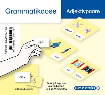 Cover-Bild Meine Grammatikdose - Adjektivpaare
